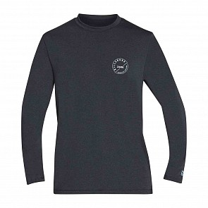 Billabong Breaker Loose Fit long Sleeve Rashguard - Heather Black