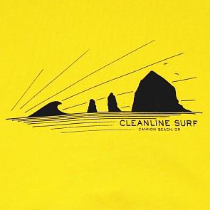 Cleanline Haystack Rays Hoody - Heather Mustard