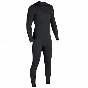 Vissla High Seas 4/3 Zip Free Wetsuit - Black