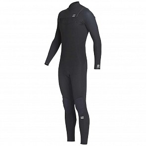 Billabong Furnace Absolute 4/3 Chest Zip Wetsuit - Black