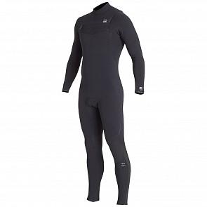 Billabong Furnace Comp 4/3 Chest Zip Wetsuit - Black