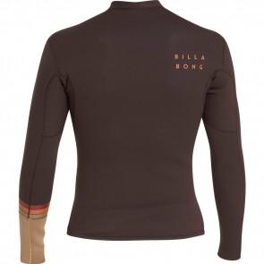 Billabong Revolution DBAH Reversible 2mm Long Sleeve Jacket - Seal Brown