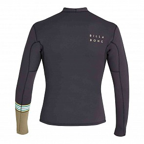 Billabong Revolution DBAH Reversible 2mm Long Sleeve Jacket - Black Sands