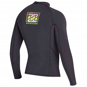 Billabong Revolution Reissue 2mm Long Sleeve Jacket - Black Sands