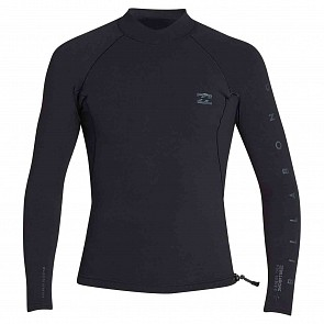 Billabong Pro Series 1mm Long Sleeve Jacket - Black