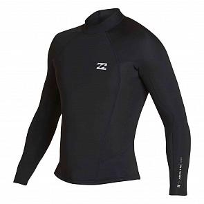 Billabong Absolute Comp 2mm Long Sleeve Jacket - Black/Silver