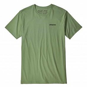 Patagonia P-6 Logo Organic T-Shirt - Matcha Green