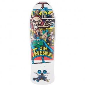 Santa Cruz Skateboards Thiebaud Joker Pro Deck - White