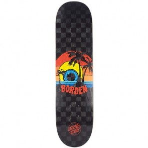 Santa Cruz Skateboards Borden Sunset Pro Deck - Black