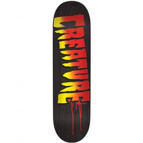 Creature Logo Stencil MD Deck - Black