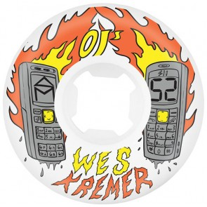 OJ Wheels 52mm Kremer Burners RIP Wheels - White
