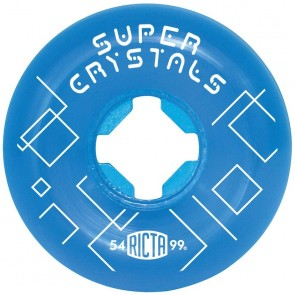 Ricta 53mm Super Crystals Wheels - Clear Blue