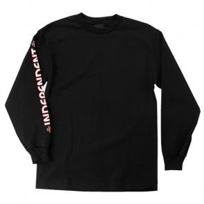 Independent Bar/Cross Long Sleeve T-Shirt - Black