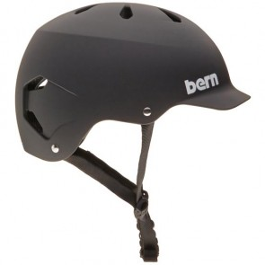 Bern Watts Hard Hat - Matte Black