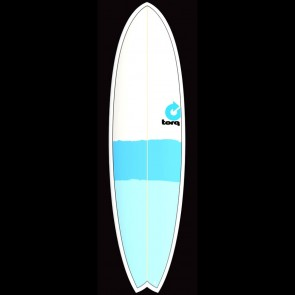 Torq Surfboards 7'2'' Torq Mod Fish - Blue/Blue/Grey
