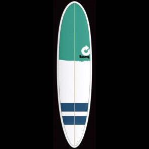 Torq Surfboards 7'6'' Torq Mod Funboard - Green Nose/Stripes