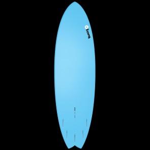 Torq Surfboards 6'6'' Torq Mod Fish - Full Fade Blue/Yellow/Orange