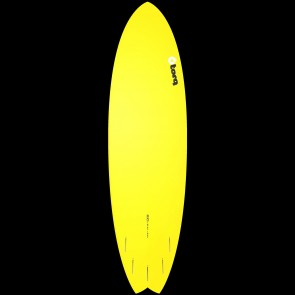 Torq Surfboards 6'10'' Torq Mod Fish - Full Fade Yellow/Yellow/Green