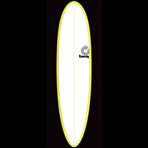 Torq Surfboards 7'6'' Torq Mod Funboard - Yellow/White
