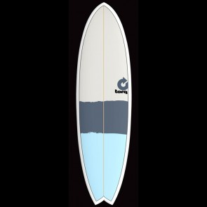 Torq Surfboards 6'3'' Torq Mod Fish - Blue/Grey