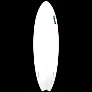 Torq Surfboards 6'3'' Torq Mod Fish - White/Blue Fade