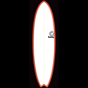 Torq Surfboards 6'10'' Torq Mod Fish - Red/White