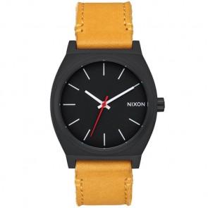 Nixon Time Teller Watch - All Black/Goldenrod