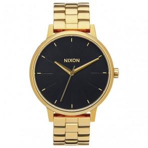 Nixon Women's Kensington Watch - All Gold/Black Sunray