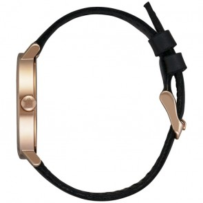 Nixon Women's Arrow Leather Watch - Rose Gold/Emerald