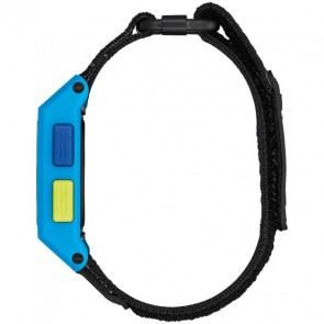 Nixon Base Tide Nylon Watch - Blue/Yellow Fade