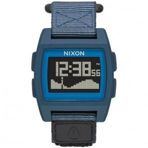 Nixon Base Tide Nylon Watch - Navy