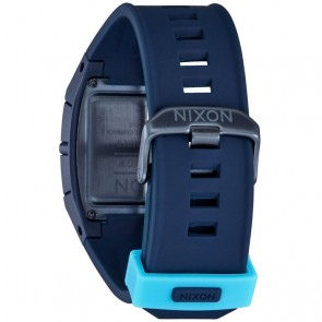 Nixon Lodown Silicone Watch - All Dark Blue