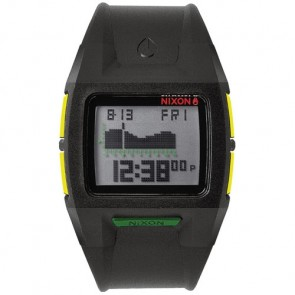 Nixon Lodown II Watch - Black Rasta