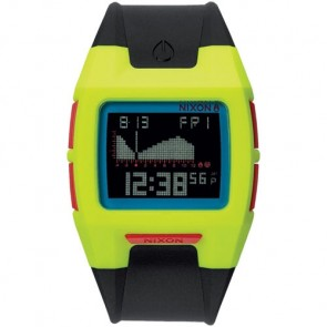 Nixon Lodown II Watch - Chartreuse/Blue/Black