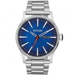 Nixon Sentry SS Watch - Reflex Blue Sunray
