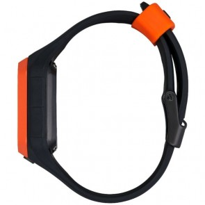 Nixon Ultratide Watch - Black/Orange JJF