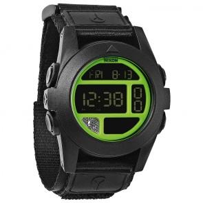 Nixon Baja Watch - Black/Neon Green