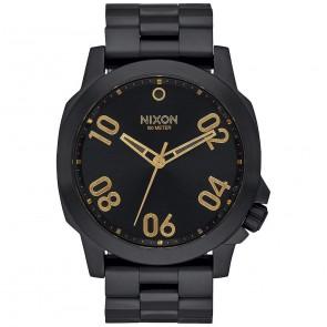 Nixon Ranger 45 Watch - All Black/Gold