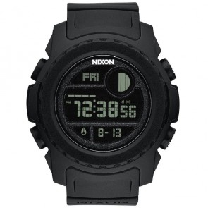Nixon Super Unit Watch - All Black