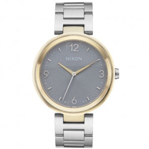 Nixon Chameleon Watch - Silver/Gold/Grey