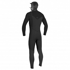 O'Neill Hyperfreak 4/3+ Hooded Chest Zip Wetsuit