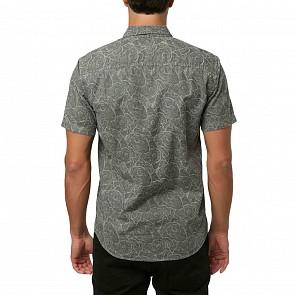 O'Neill Tinos Short Sleeve Shirt - Blue Lagoon