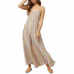 O'Neill Women's Juls Stripe Jumpsuit - Multi