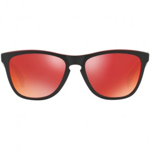 Oakley Frogskins Eclipse Sunglasses - Eclipse Red/Torch Iridium