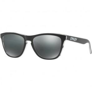 Oakley Frogskins Eclipse Sunglasses - Eclipse Clear/Black Iridium