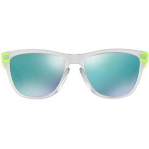 Oakley Frogskins Colorblock Sunglasses - Matte Clear/Jade Iridium