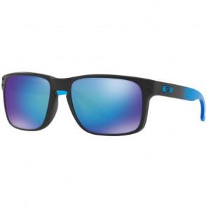 Oakley Holbrook Prizm Polarized Sunglasses - Matte Black/Sapphire Fade