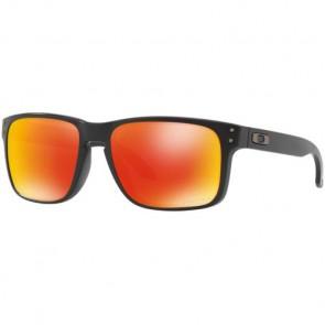 Oakley Holbrook Prizm Sunglasses - Matte Black/Torch Iridium