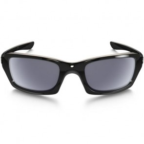 Oakley Fives Squared Sunglasses - Polished Black/Grey
