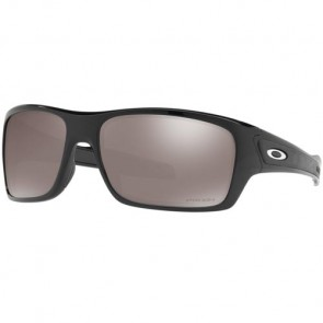 Oakley Turbine Polarized Sunglasses - Polished Black/Prizm Black